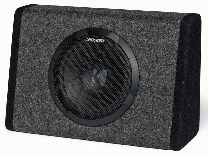 "Kicker Refurbished 11PT10 Car Audio BassStation Powered 100W 10"" Truck Enclosure"