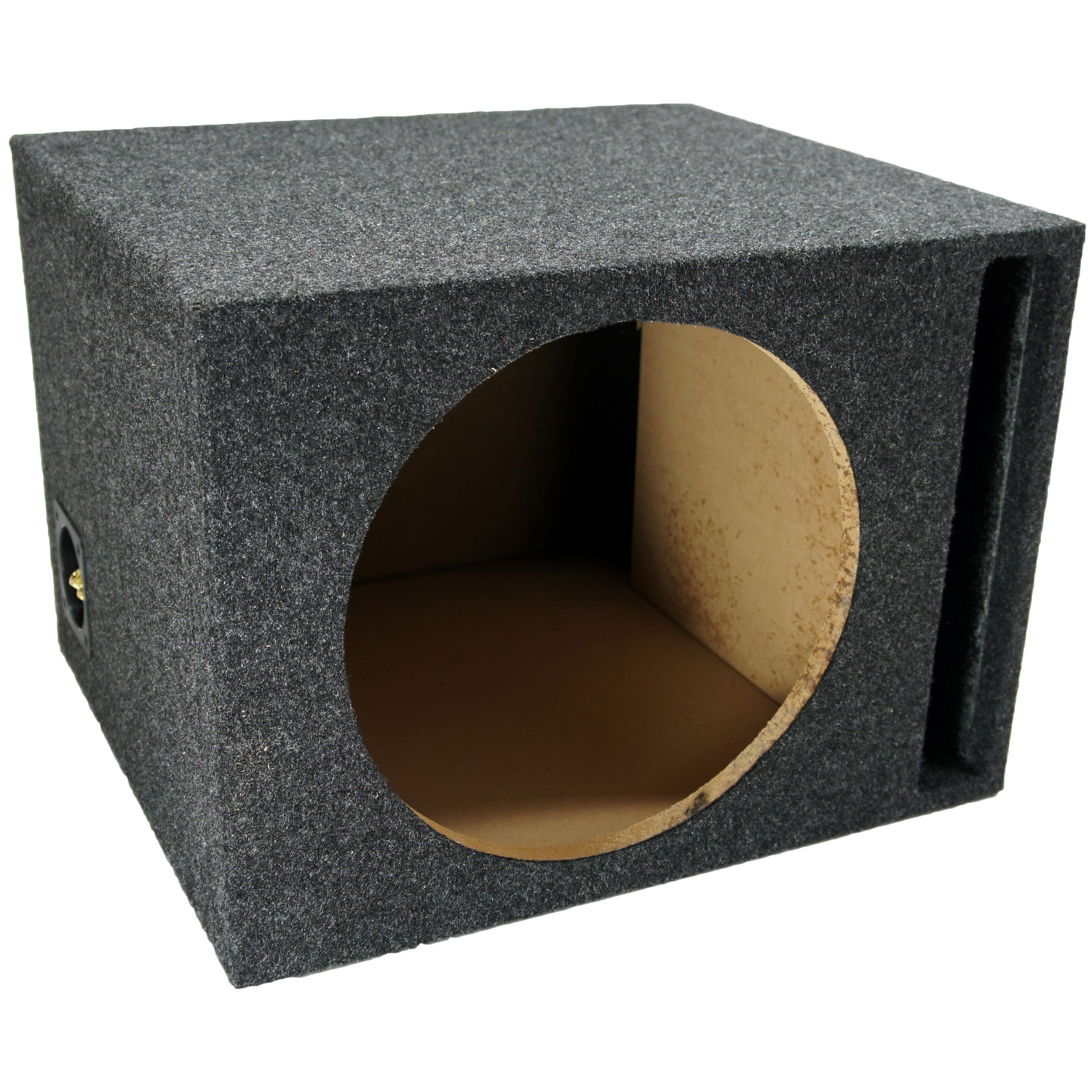 Car Audio Subwoofer Single 12 Vented Sub Box Enclosure