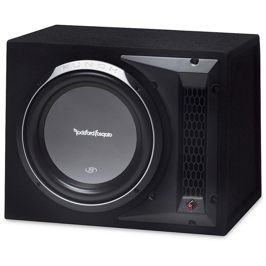 rockford fosgate p2l 1x12 single 12 inch subwoofer loaded. Black Bedroom Furniture Sets. Home Design Ideas