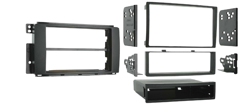 Metra 99-8715 Single / Double DIN Installation Dash Kit for 2008-10 Smart Fortwo Vehicles