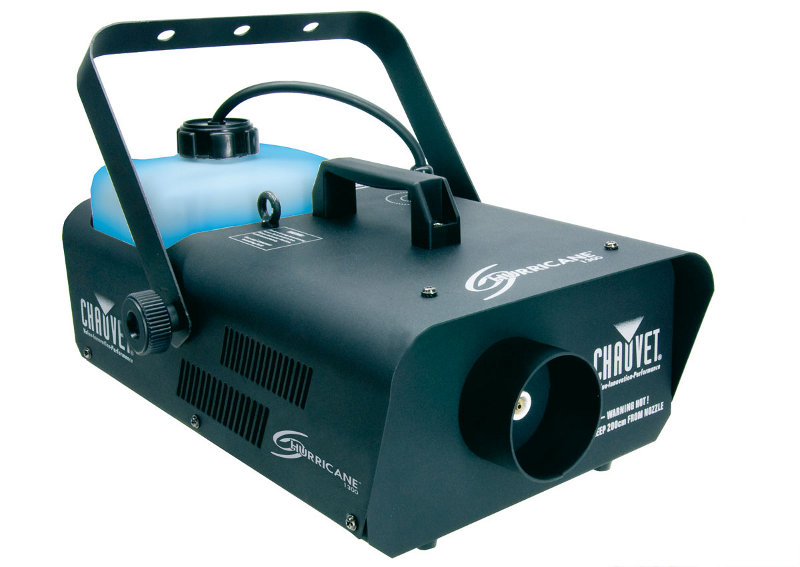 Chauvet DJ H1300 Hurricane 1300 Fogger Industrial Fog Machine - Refurbished
