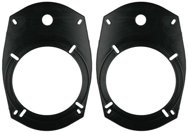 """Metra 82-6901 5-1/4"""" or 6-1/2"""" Speaker to 6"""" x 9"""" Mounting Hole Adapters"""