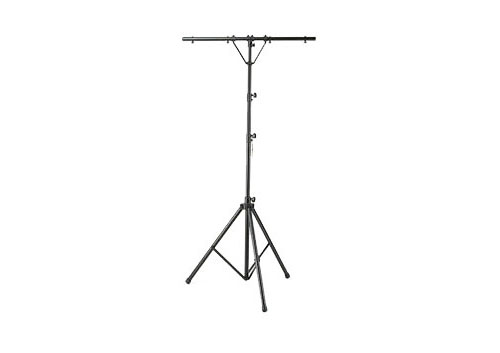 Odyssey Cases LTP2 12 Feet Tripod T-Bar Lighting Stand w/ Support Bars & Hanging Bolts