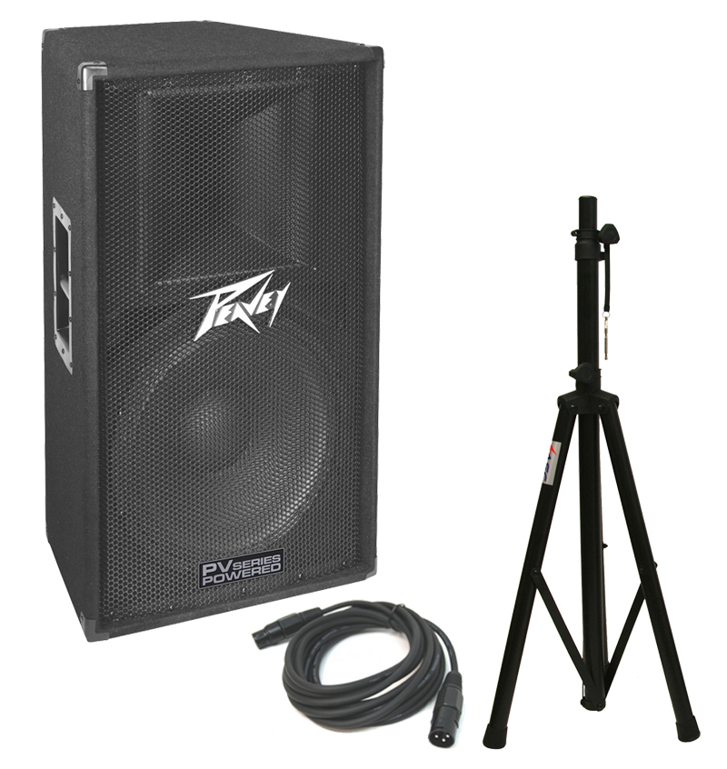 peavey pv115d pro audio dj powered 400 watt 15 2 way. Black Bedroom Furniture Sets. Home Design Ideas