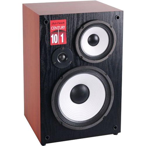 "DJ Tech Century 101 10"" Passive 3-Way Loudspeaker with Gold-Plated Terminals"