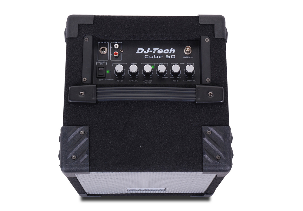 DJ Tech Cube 50 Wireless 50 Watts PA System