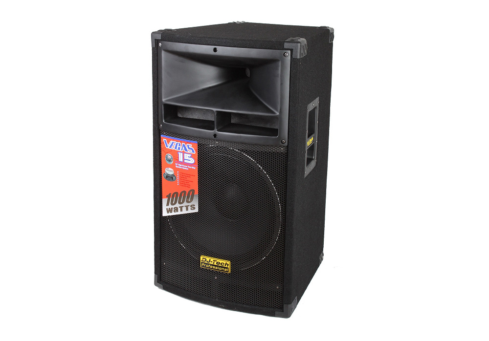 "DJ Tech Vegas 15 MKII 15"" Two-way High-Power Speaker System"