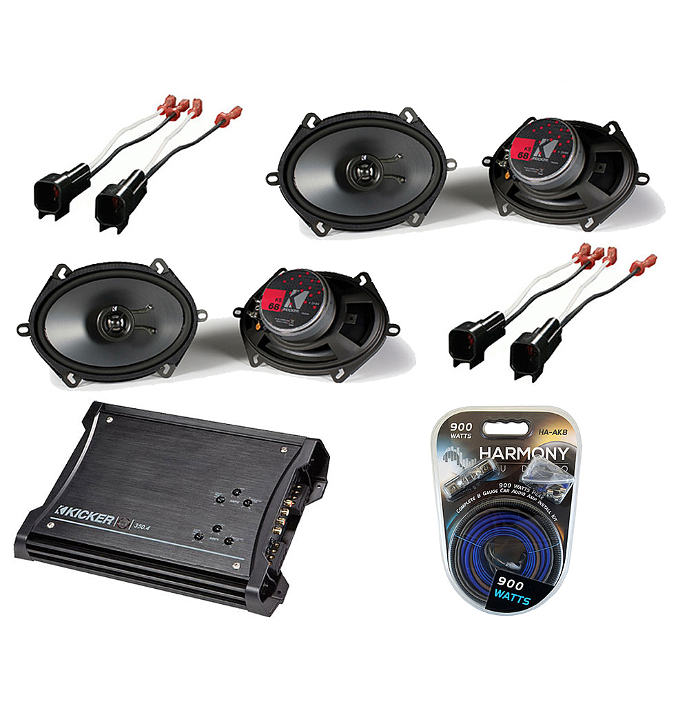 Subwoofer by Kicker - Audio Upgrade Kit | The Official ...  |Ford Edge Subwoofer
