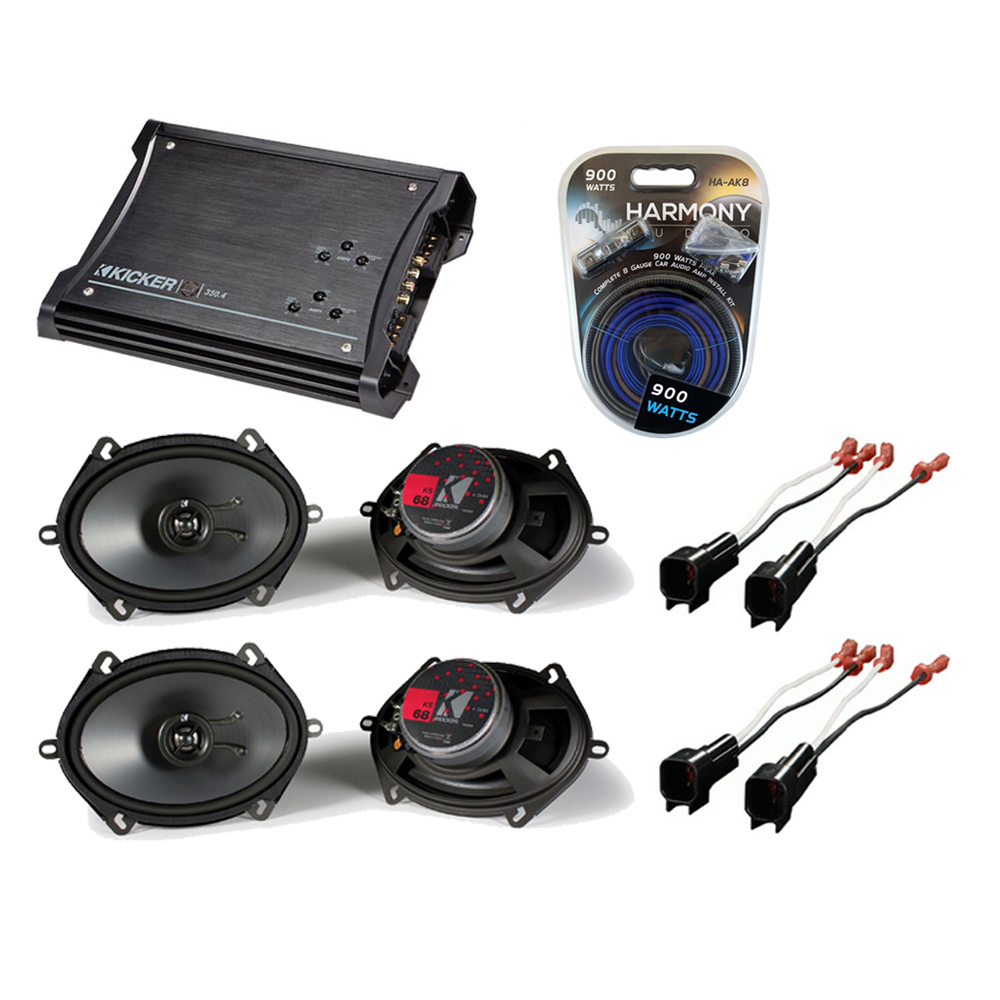 Speakers KICKER 2013 UPGRADE127 detailed image 1 ford mustang 2005 2012 kicker factory 5x7 6x8 coaxial speaker Universal Ford Wiring Harness at bayanpartner.co