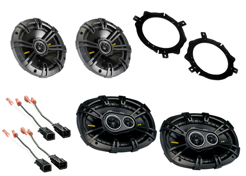 Dodge Caravan 1996-2000 Kicker CS54 & CS6934 Coaxial Factory Upgrade Replacement Speakers