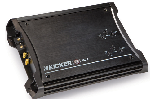 Mazda 6 2003-2006 Kicker Factory Component Speaker Replacement KS65.2 &  KS65 Package with ZX350.4 Amp