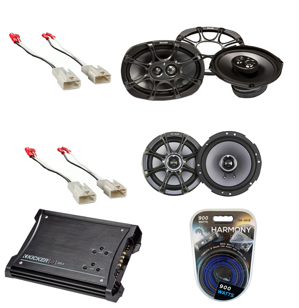 toyota tacoma 2005 2011 kicker factory coaxial speaker replacement ks65 ks693 package with. Black Bedroom Furniture Sets. Home Design Ideas