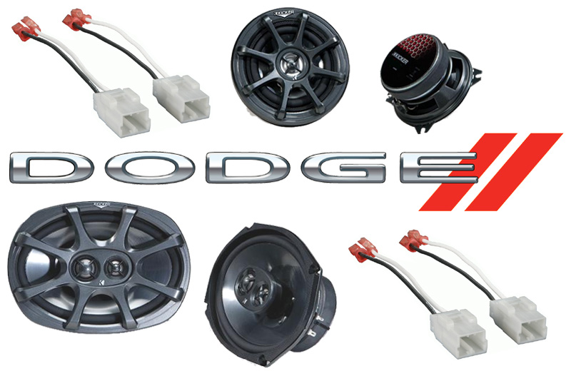 Dodge Ram 02-08 Quad Cab Truck Kicker Factory Speaker Replacement KS6930 & KS5250 Package