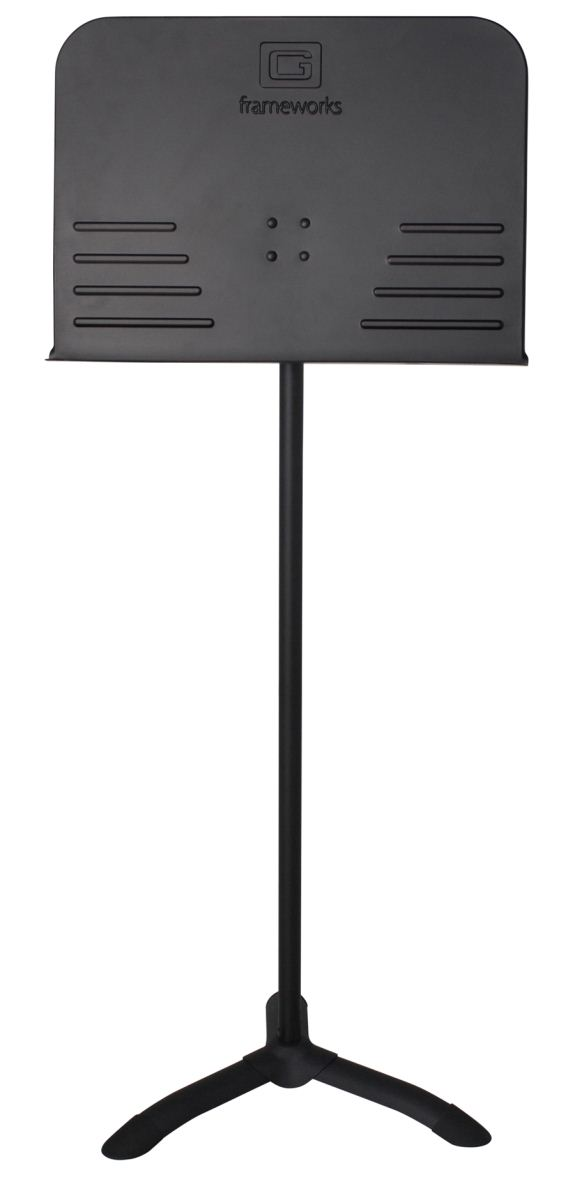 Gator Frameworks GFW-MUS-1000 Sheet Music Stand with Friction Height Adjustment