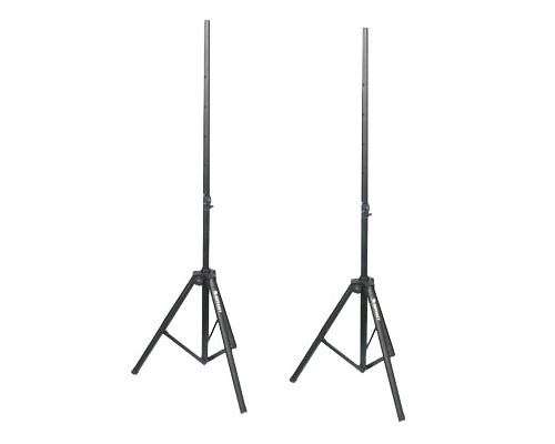 Odyssey Cases LTS2X2B 8 Feet 2 Dual Speaker Stand Pack w/ Carrying Bag