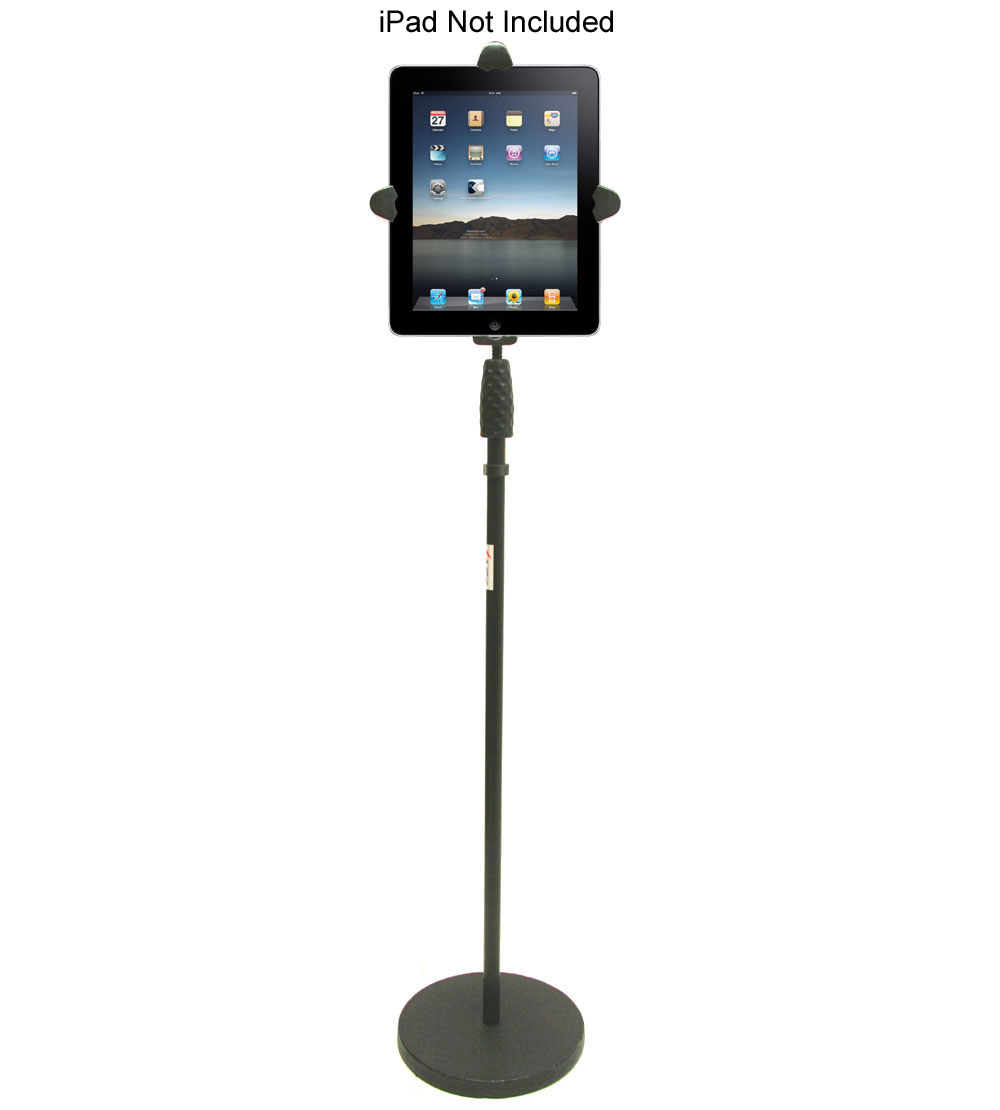 Apple iPad Floor Stand Home Office Business School Adjustable Height Flexible Neck Holder Mount