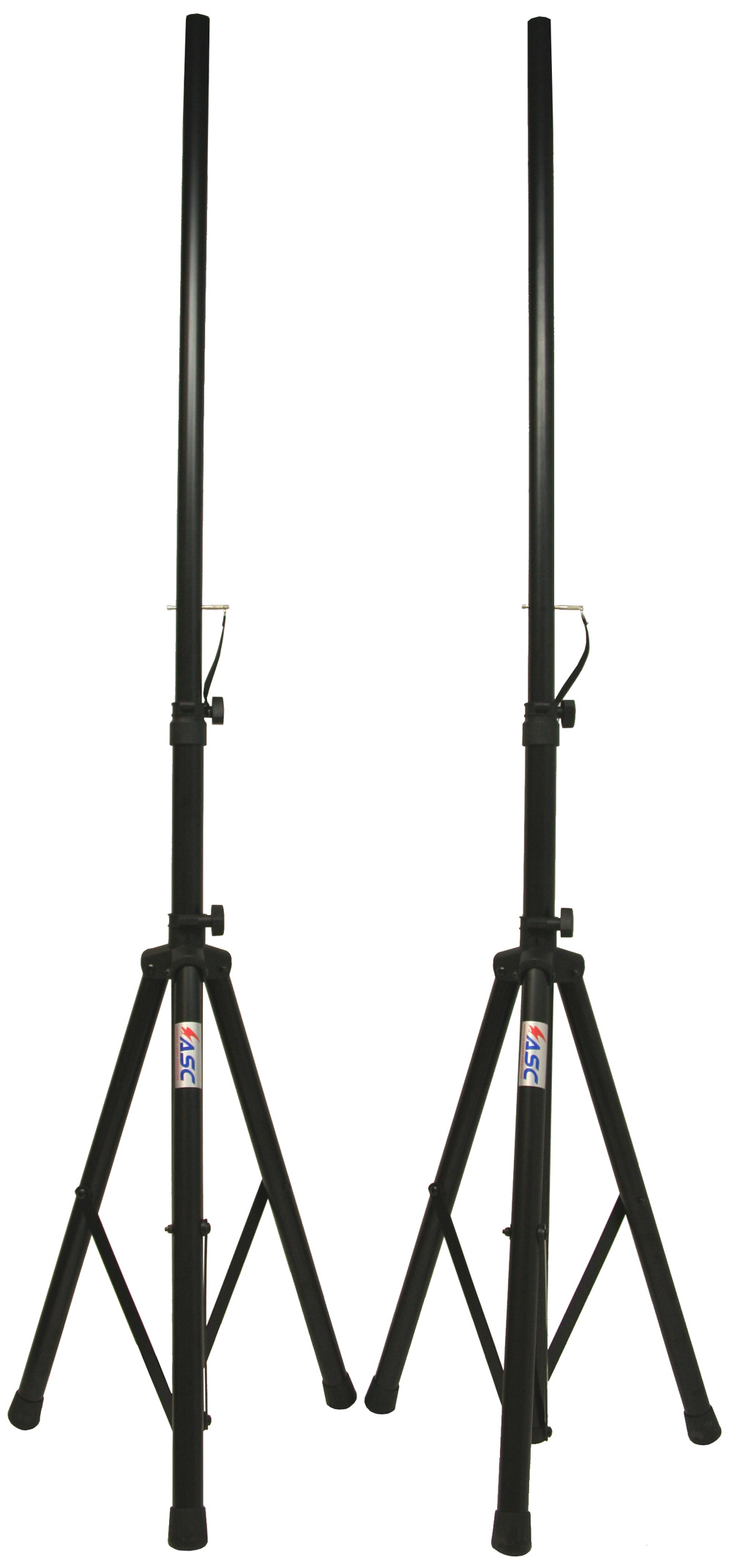 2 Dj Pa Speaker Universal Stands And 2 15 Foot Speakon