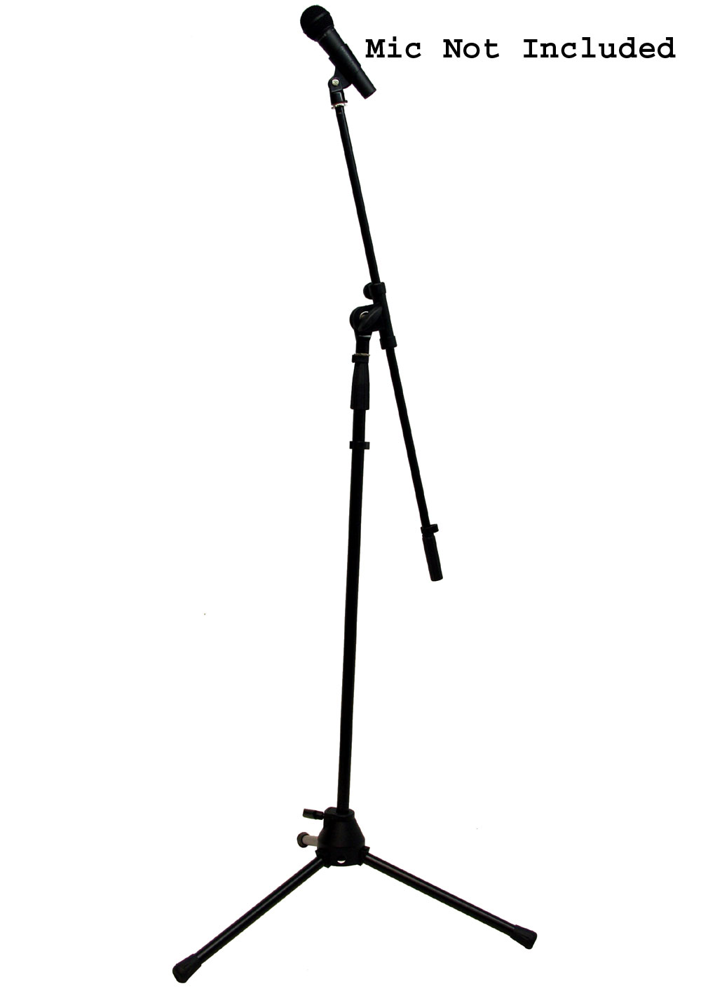 pro audio universal iron adjustable height boom arm instrument or stage tripod mic stand