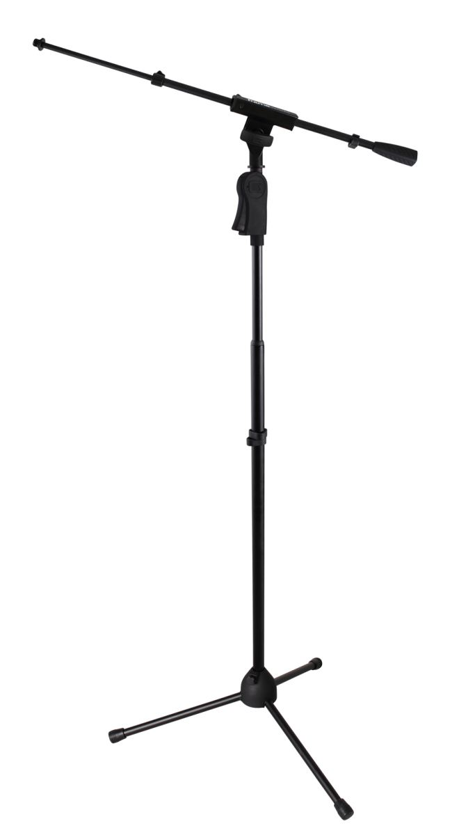 Gator Frameworks GFW-MIC-2120 Mic Stand with Telescoping Boom and One Handed Clutch