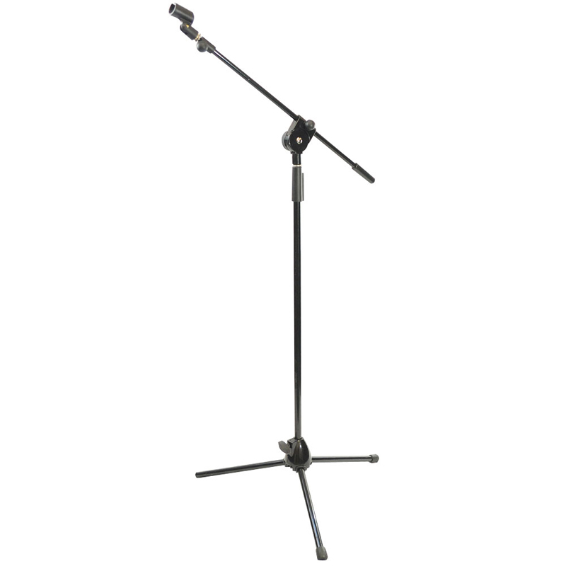 Pyle PMKS3 Tripod Microphone Stand W/ Extending Boom
