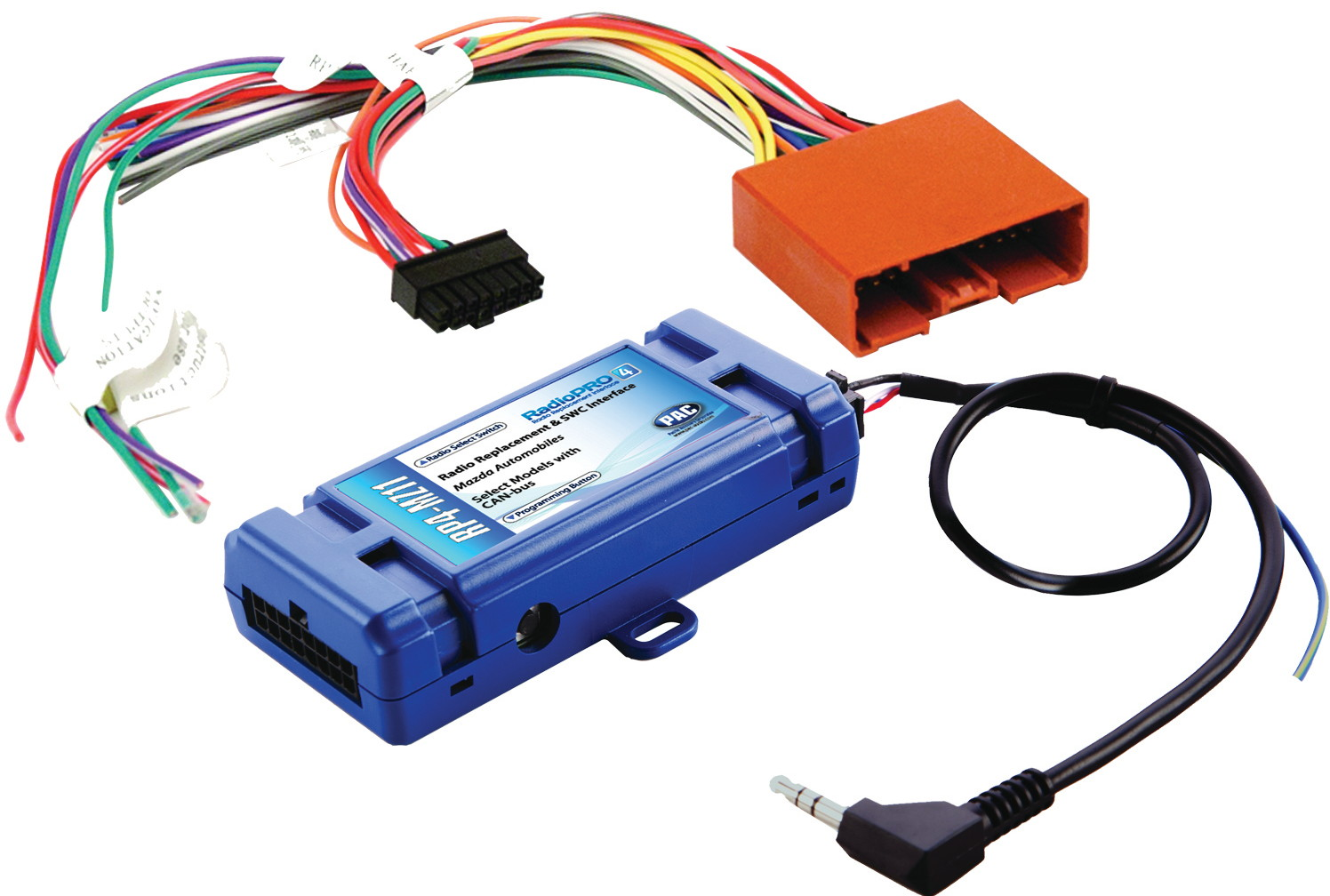 PAC RP4-MZ11 Radio Replacement Interface With Built In Pre-Programmed Steering Wheel Control Retention and Navigation Outputs