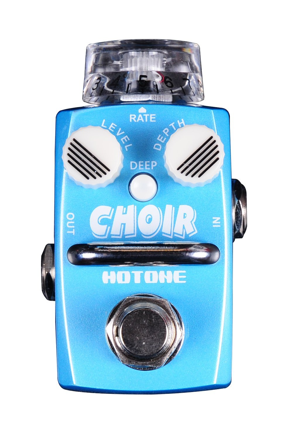 Hotone Skyline CHOIR Chorus Guitar Stompbox with 2 Noctilucent Small Knobs (TPSCH1)