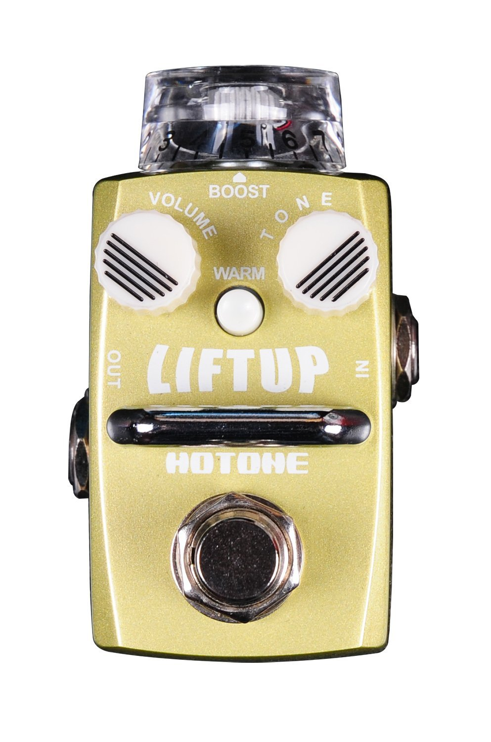 Hotone Skyline LIFT Up Clean Volume Boost Guitar Stompbox with True Bypass Footswitch (TPSDB1)