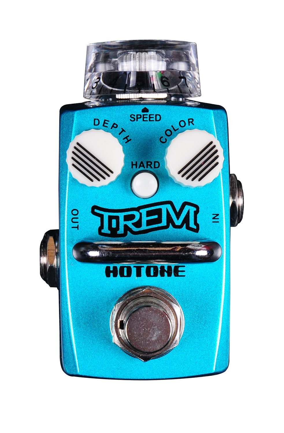 Hotone Skyline TUNER Guitar Stompbox with True Bypass Footswitch (TPSTR1)