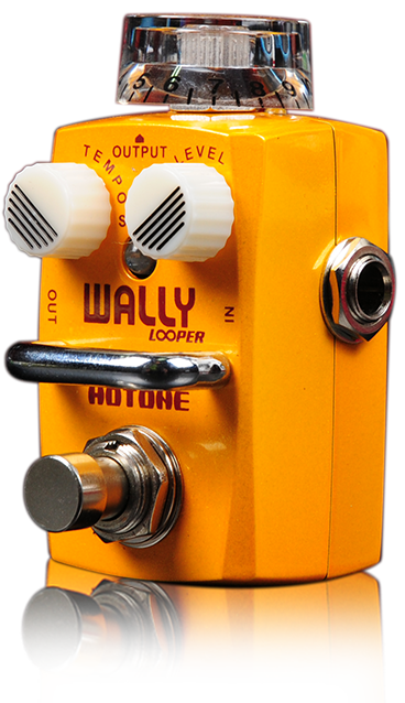 Hotone Skyline WALLY Mini Loop Station Guitar Stompbox with Limitless Overdub Number (TPSWALLY)