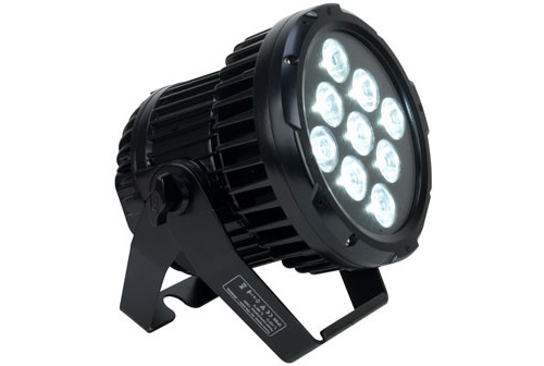 Elation ELAR QUAD PAR 9 x 10W Cree Quad Led Strobe Effect with Built-in Color Macros