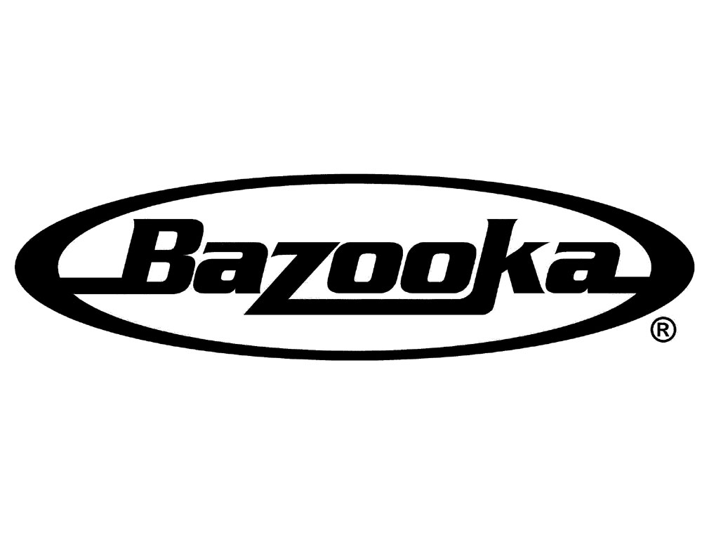 Bazooka GR10C 10 Inch Black Colored Heavy Duty Replacement Subwoofer Grill cover