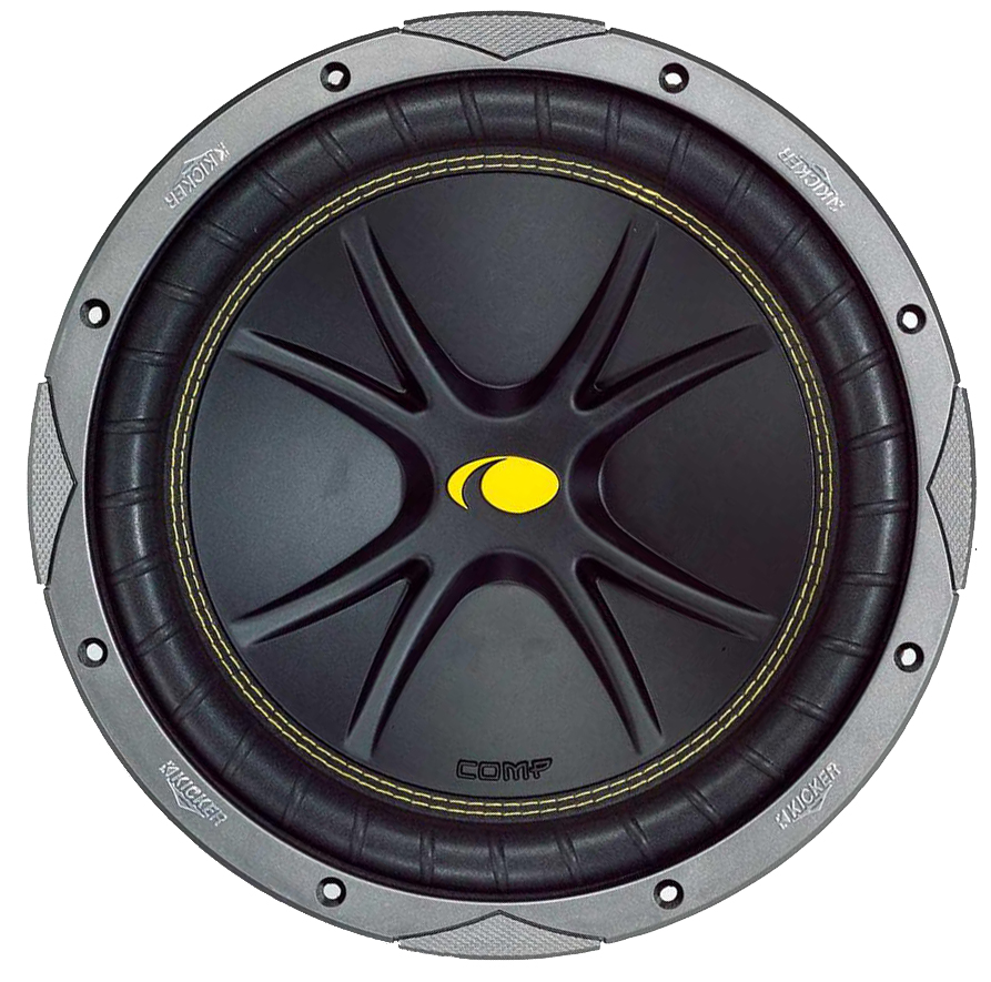 Kicker 05c154 Car Audio Comp 15 U0026quot  Subwoofer 500w Single 4 Ohm C15 Sub Refurbished