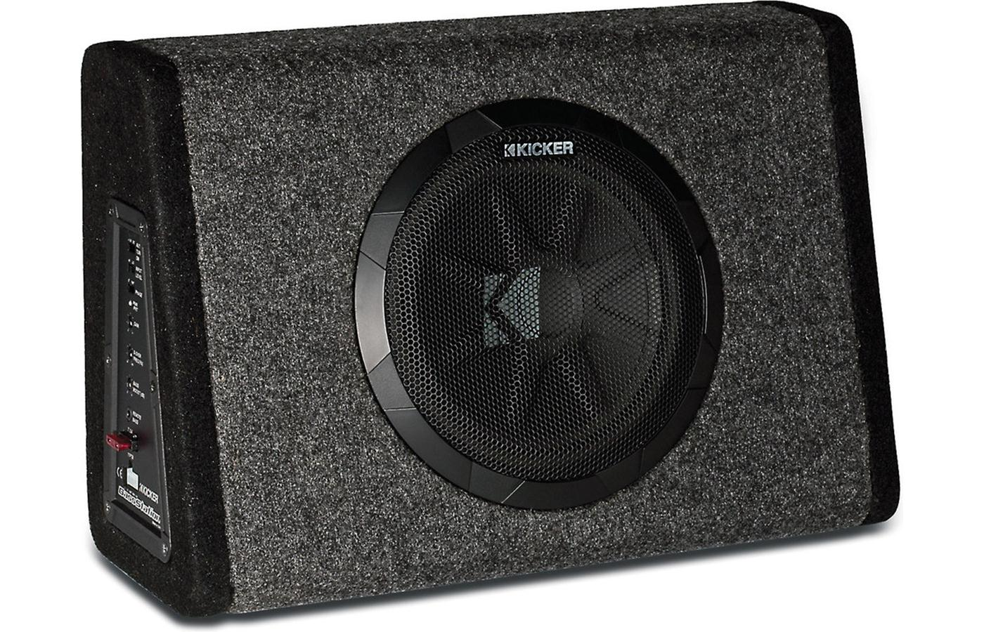 "Kicker 11PT10CA Powered 10"" Subwoofer Enclosure w/ Remote Bass-Level Controller - Limited Stock"