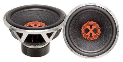 """Powerbass 3XL-1502D Dual 2-Ohm 2000 Watts 15-Inch Subwoofer with 3"""" Voice Coil"""