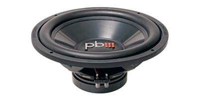 "Powerbass L-1204D L Series 12-Inch 800 Watts Dual 4-Ohm 2"" Voice Coil Subwoofer"