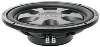 Powerbass S-12TD 12-Inch 600 Watts Dual 4-Ohm Voice Coils Thin Woofer Subwoofer