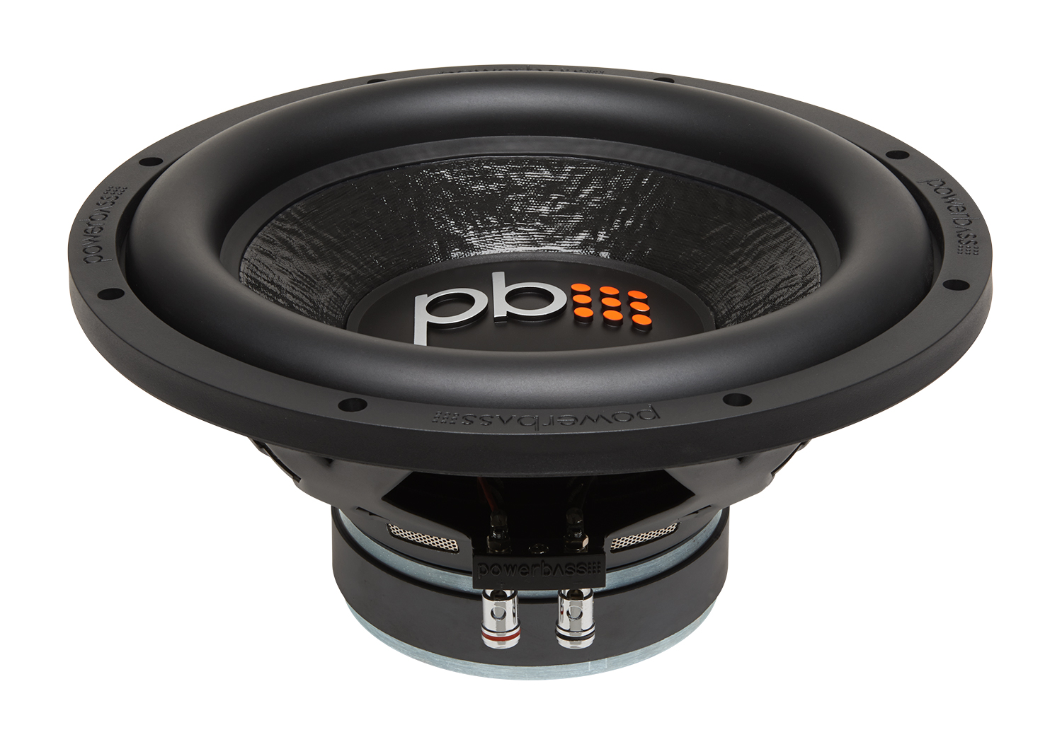 "Powerbass M-1204 M-Series 12"" Single 4-Ohm Subwoofer with 5.5"" Mounting Depth"