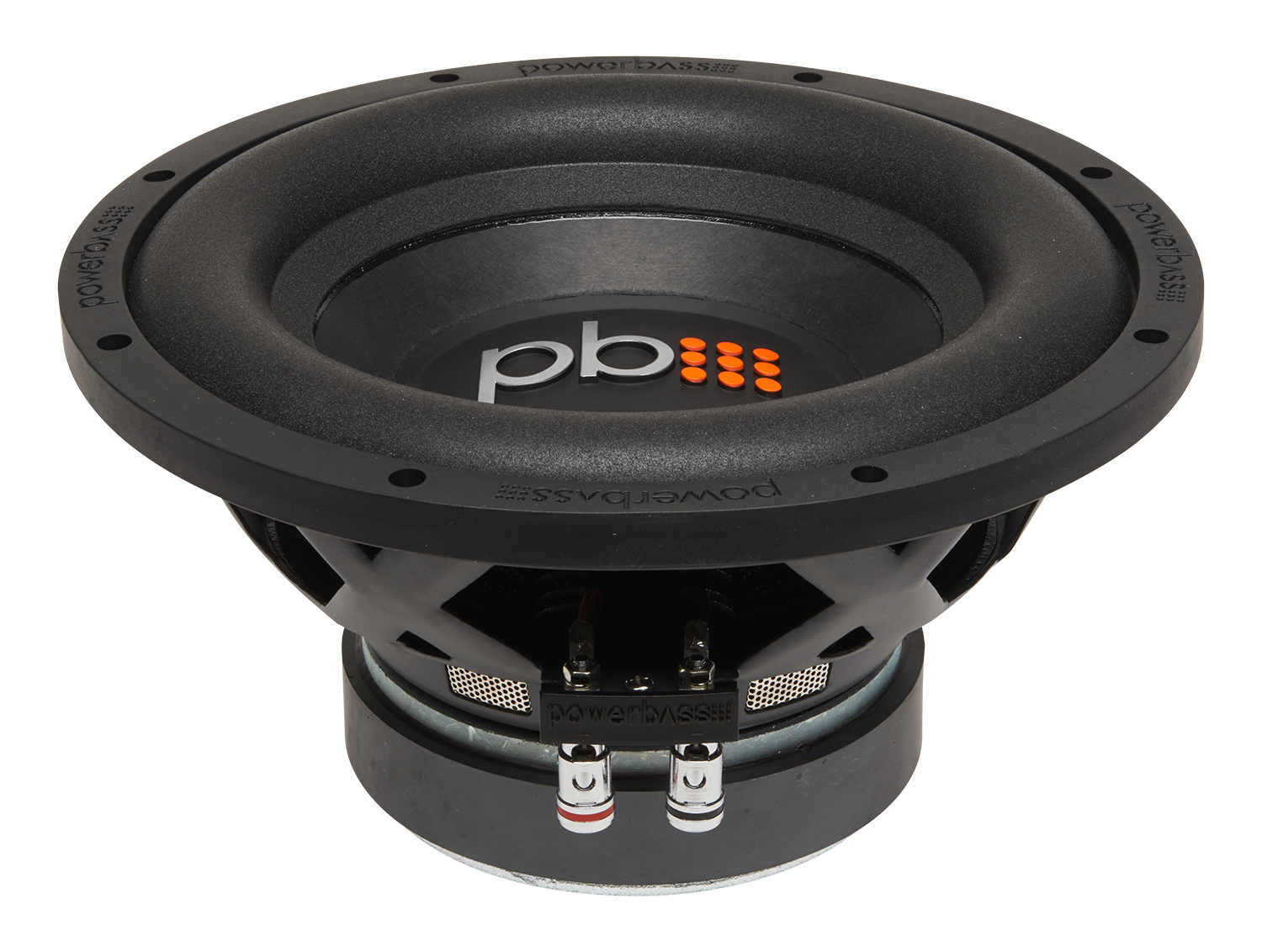 Powerbass S-1004 10-Inch Single 4-Ohm Subwoofer with Large Roll Foam Surrounds
