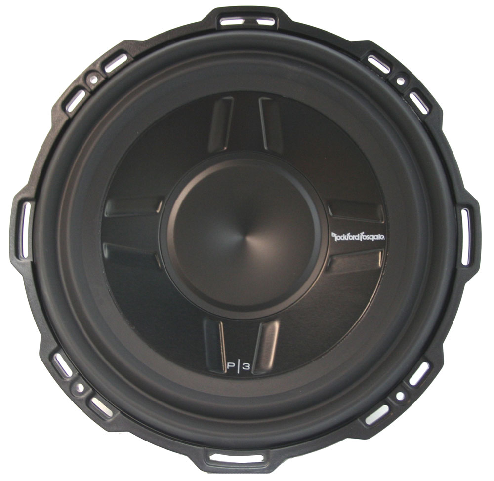 """Rockford Fosgate P3SD4-12 Punch 12"""" Dual 4 Ohm Shallow Mount Subwoofer 400W"""