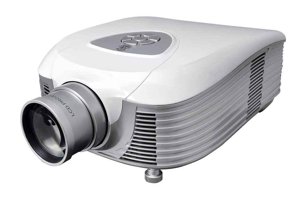 Pyle Home PRJLE55 High Definition LED Widescreen Projector with Supports 1080p
