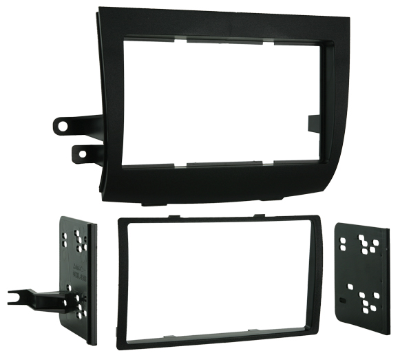 Metra 95-8208 Double DIN Install Dash Kit for 2004-2010 Toyota Sienna Vehicles