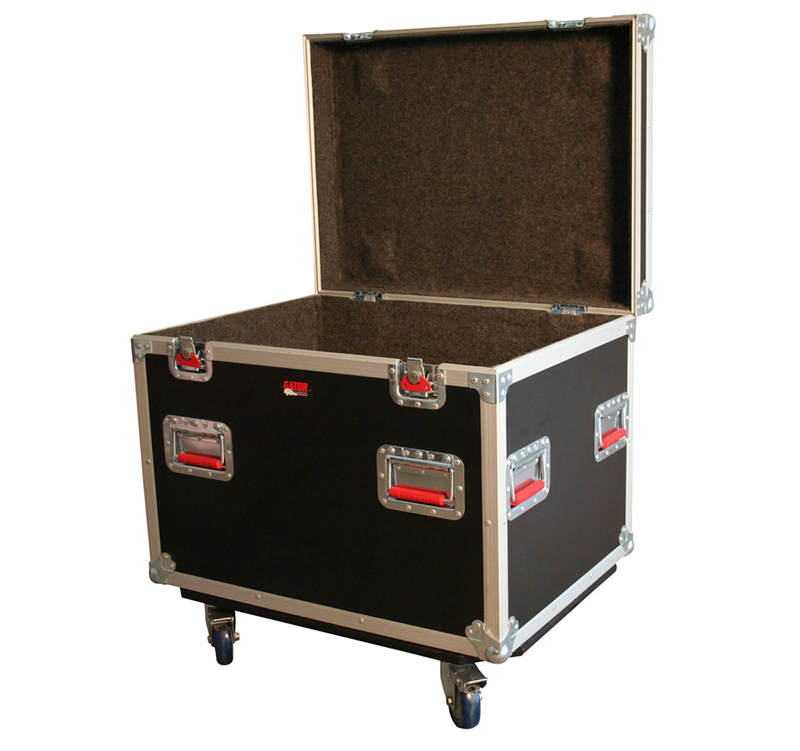 """Gator Cases G-TOURTRK3022HS Truck Pack Trunk w/ Casters - 30"""" x 22"""" x 22"""""""