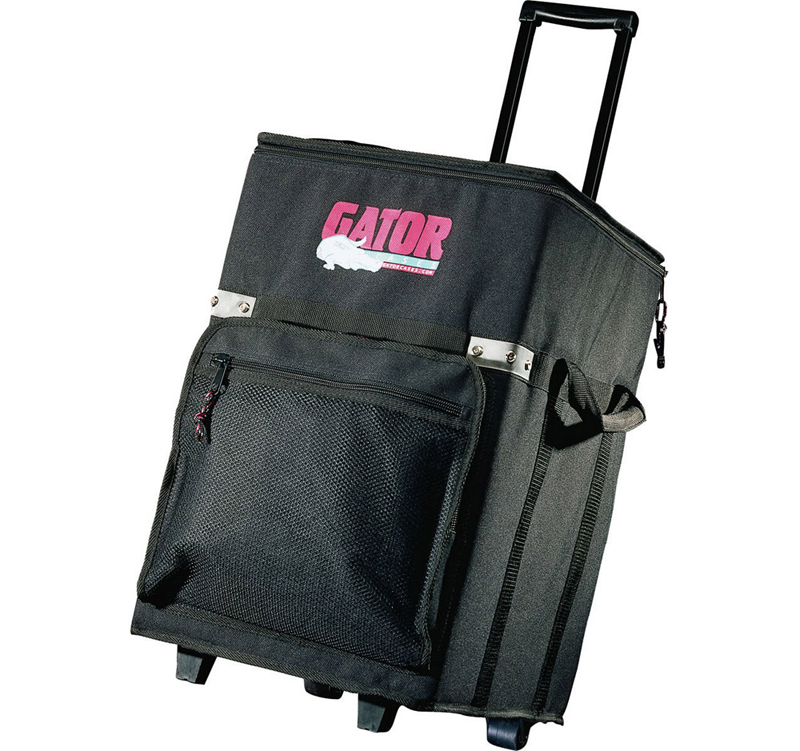 Gator Cases GX-20 Travel Case w/ Portable Wheels Pull-Out Handles - New Return