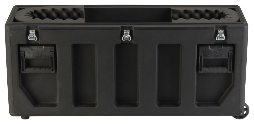 "SKB Cases 3SKB-3237 Large Roto-Molded LCD Case for 32"" to 37"" Flat Screens w/ Universal Foam Pad Set (3SKB3237)"