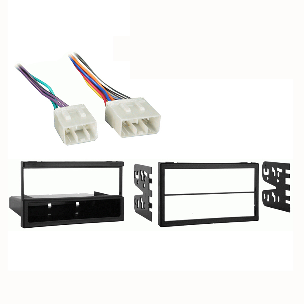 Mazda MPV Van 1996-1999 Multi DIN Stereo Harness Radio Install Dash Kit Package