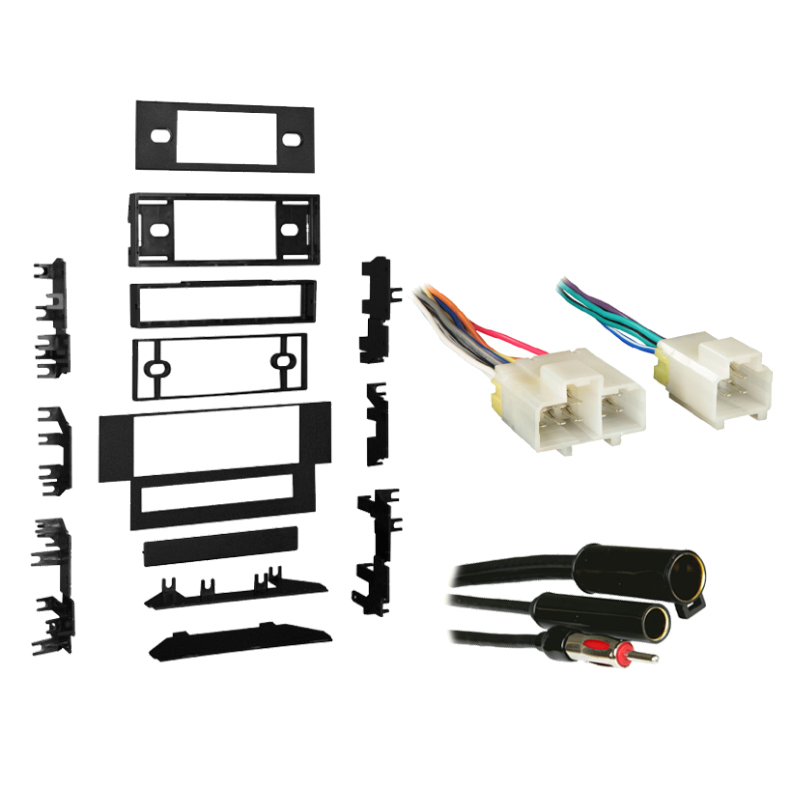 Nissan Altima 1993-1994 Single DIN Stereo Harness Radio Install Dash Kit Package