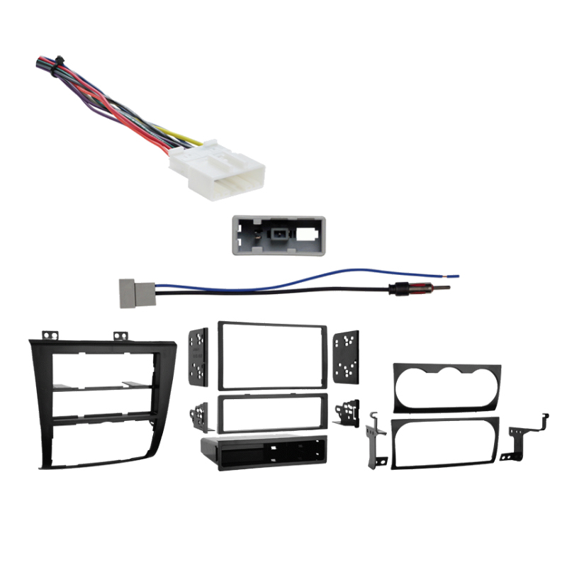 Nissan Altima Coupe 2013 Single/Double DIN Stereo Harness Radio Install Dash Kit