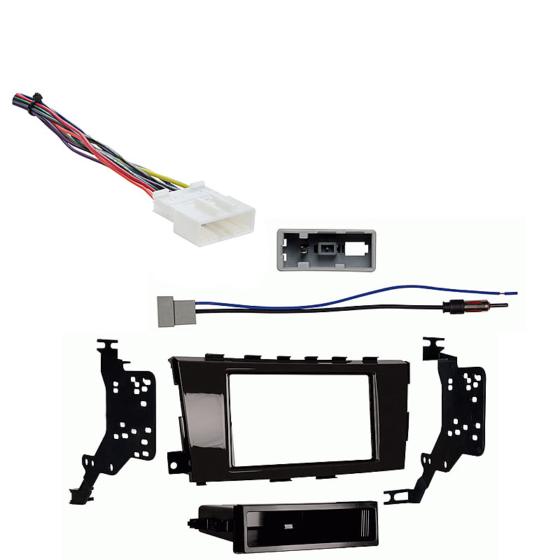 Nissan Altima Sedan 2013-2014 Single DIN Stereo Harness Radio Install Dash Kit