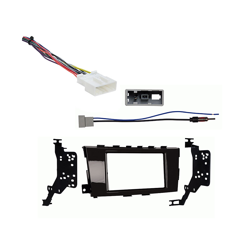 Nissan Altima Sedan 2013 2014 Double DIN Stereo Harness Radio Install Dash Kit