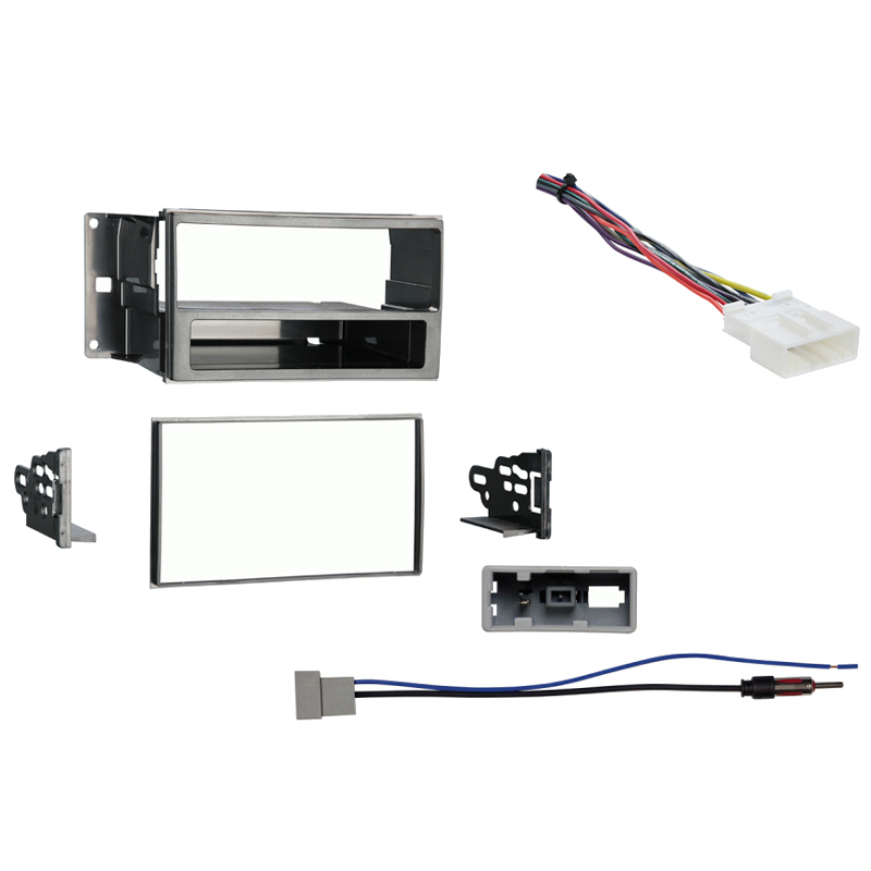 nissan cube 09 14 single double din stereo harness radio install rh hifisoundconnection com